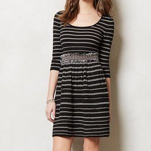 Knitted and Knotted Elodie Sweater Stripe Dress, S